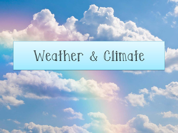 World Geography: Weather & Climate