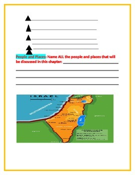 World Geography and You-Chapter32 Ouline-Israel