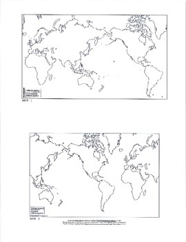 World Geography refresher packet