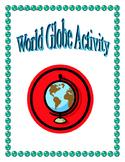 World Globe Activity