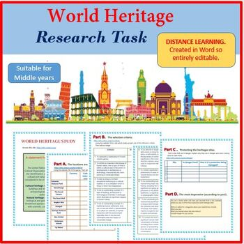 World Heritage Research Task