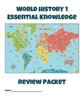 World history 1 ancient history essential knowledge study guide gumiabroncs Images