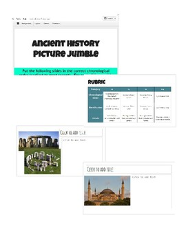 World History 1 (Ancient History) Final Project