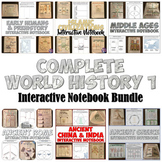 World History 1 Interactive Notebook Bundle