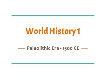 World History 1 PowerPoint Presentations