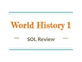 World History 1 SOL/Common Core Review