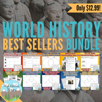 World History: 10 Best Selling Resources