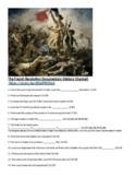 World 1st semester documentary bundle   French, Industrial Rev, WW1    Has Links