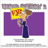 World History 2 Cartoon Clipart