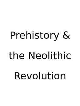 World History #2: Free Note Packet