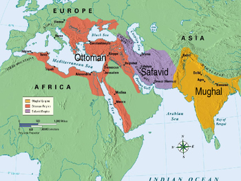 world history powerpoint 21 gunpowder empires ottoman safavid
