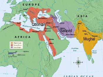World History Powerpoint 21 Gunpowder Empires Ottoman Safavid Mughal