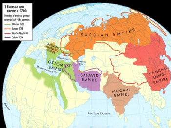 World History #28: Transformation of Gunpowder Empires in 1800s