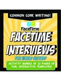FaceTime Interview World History Activity Bundle