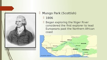World History African Imperialism in the 1800's  36  slides PPT