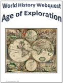 World History - Age of Exploration Webquest for Google Apps - Internet Activity