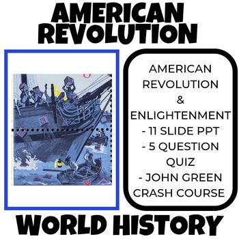 American Revolution Activity / Enlightenment Unit World History