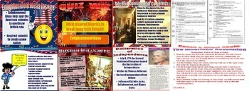 World History American Revolution BUNDLE PowerPoint Guided Notes Activities