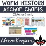 World History Anchor Charts--African Kingdoms