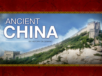 Ancient China PowerPoint with Guided Outline