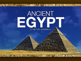 Ancient Egypt PowerPoint with Guided Outline