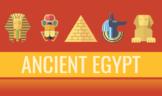 World History - Ancient Egypt - Slideshow Bundle