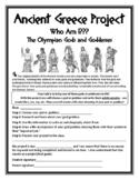 History Ancient Greece Project Greek God & Goddess Project