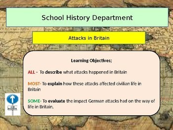 World History: Attacks on Civilians and Rationing during WW1: British History