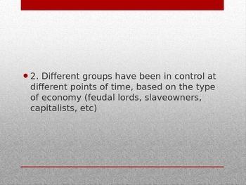 World History-Basic Marxist Theory (Communism)