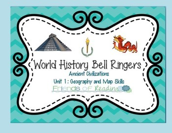 World History Bell Ringers- Unit 1