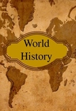 World History Binder Cover
