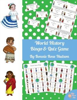 World History Bingo and Quiz Game