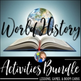 WORLD HISTORY BUNDLE