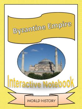 World History: Byzantine Empire Interactive Notebook