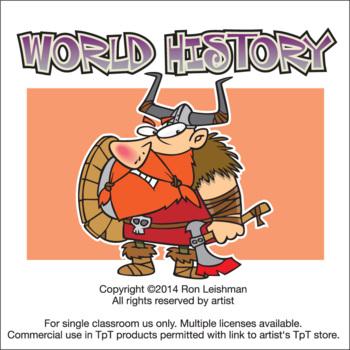 World History Cartoon Clipart
