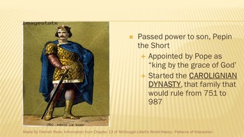 World History: Chapter 13 Middle Ages Section 1 Charlemagne