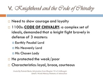 World History: Chapter 13 Middle Ages Section 3 Age of Chivalry