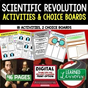 World History Activities, Choice Board BUNDLE Print & Digital, Google Part 2