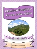 World History: Classical Empires and Religions Interactive Notebook