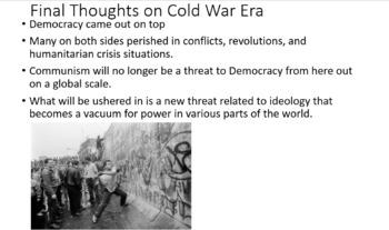 World History - Cold War