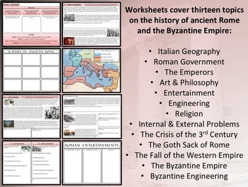 World History - Complete Curriculum Bundle