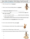 Crash Course World History #2 (Indus Valley Civilization) worksheet