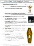 Crash Course World History #4 (Ancient Egypt) worksheet