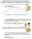 World History Crash Course #6 (Buddha and Ashoka) worksheet