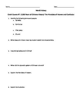 World History Crash Course #7