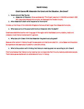 World History Crash Course #8
