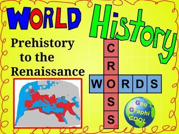 Ancient World History Crosswords