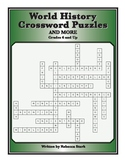 World History Crosswords, Grades 5 and Up