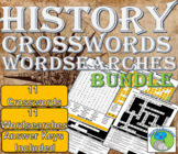 World History Crosswords and Word Searches -11 Periods, An