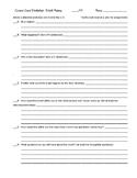 World History Current Event Worksheet